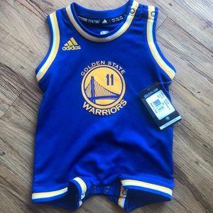 Adidas Golden state warriors Thompson onesie
